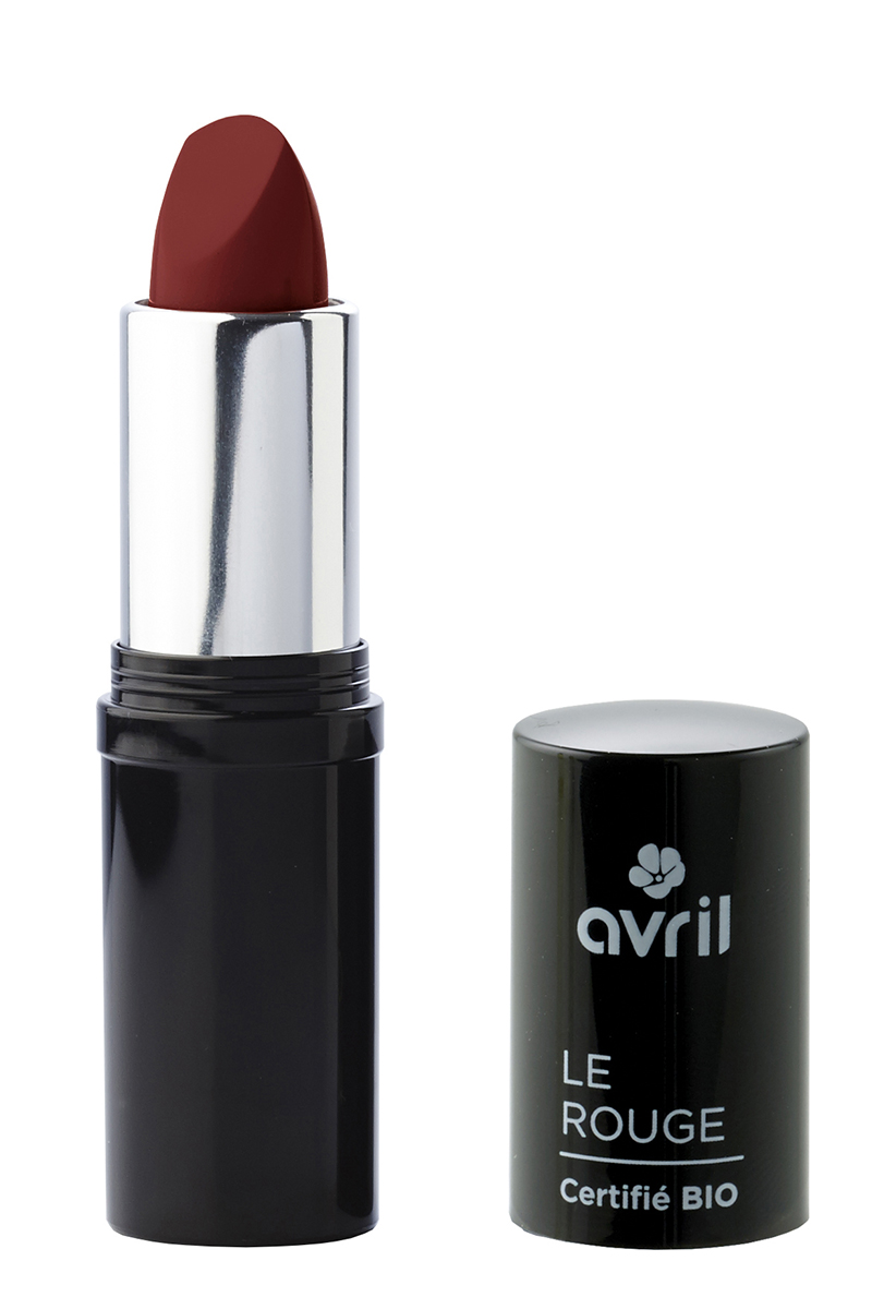 Rouge à lèvres brun rose