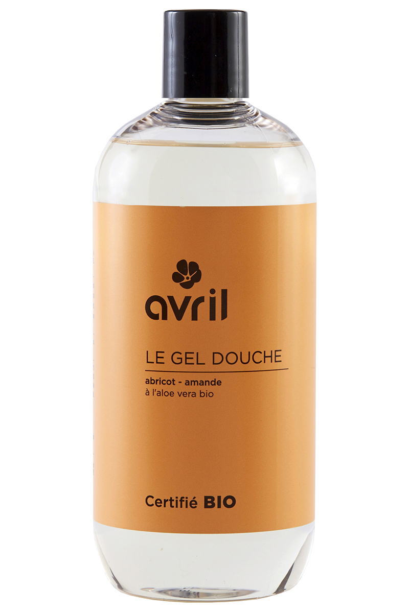 Gel douche Abricot-Amande BIO 500ml