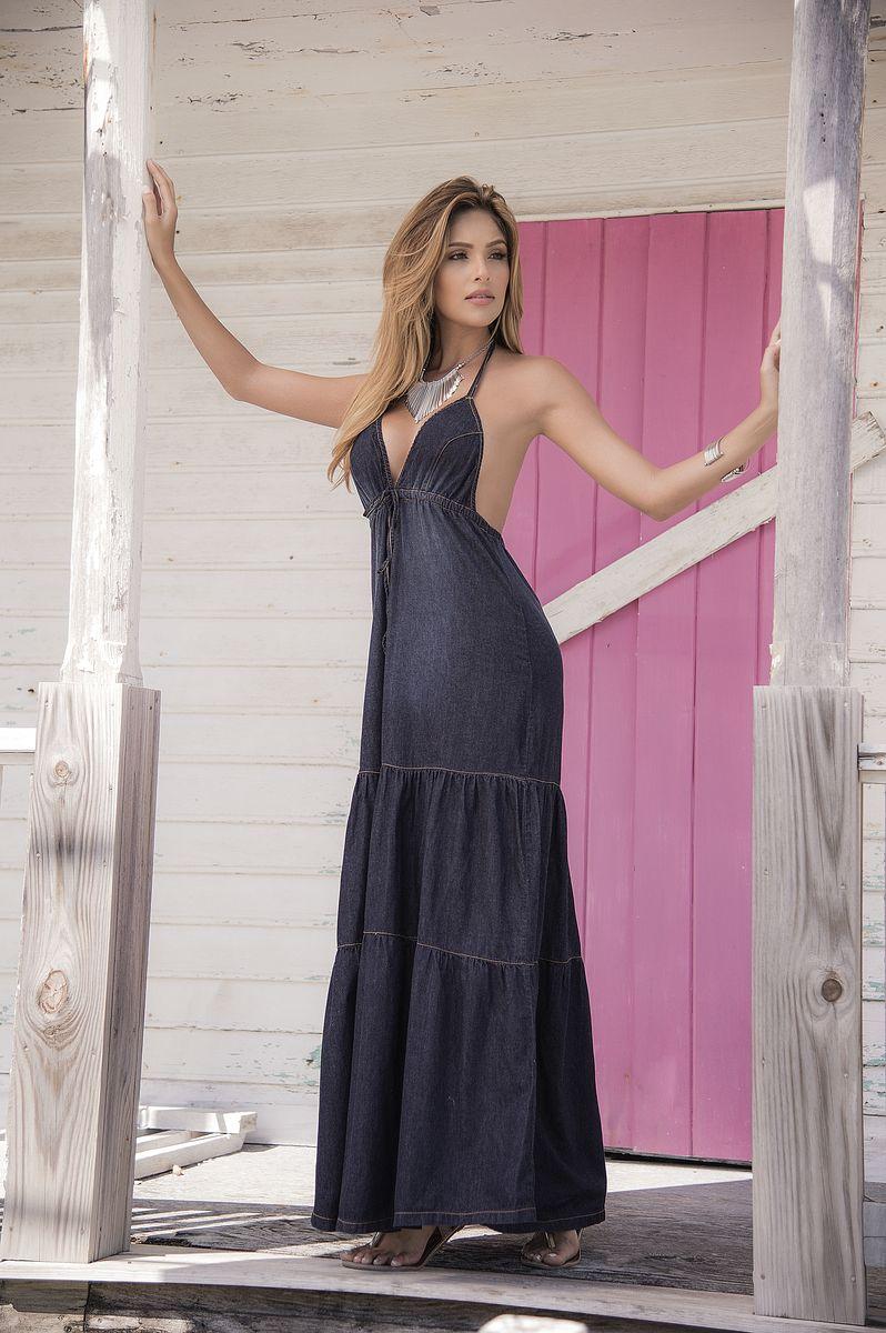 Robe longue Denim 4991