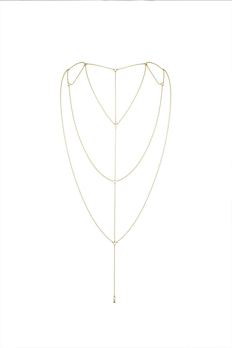Chainette dos & décolleté Magnifique or