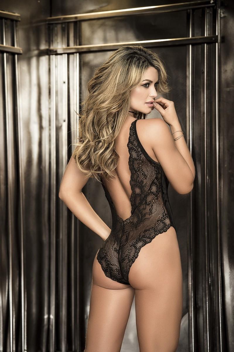 Bodysuit black 8259_14572