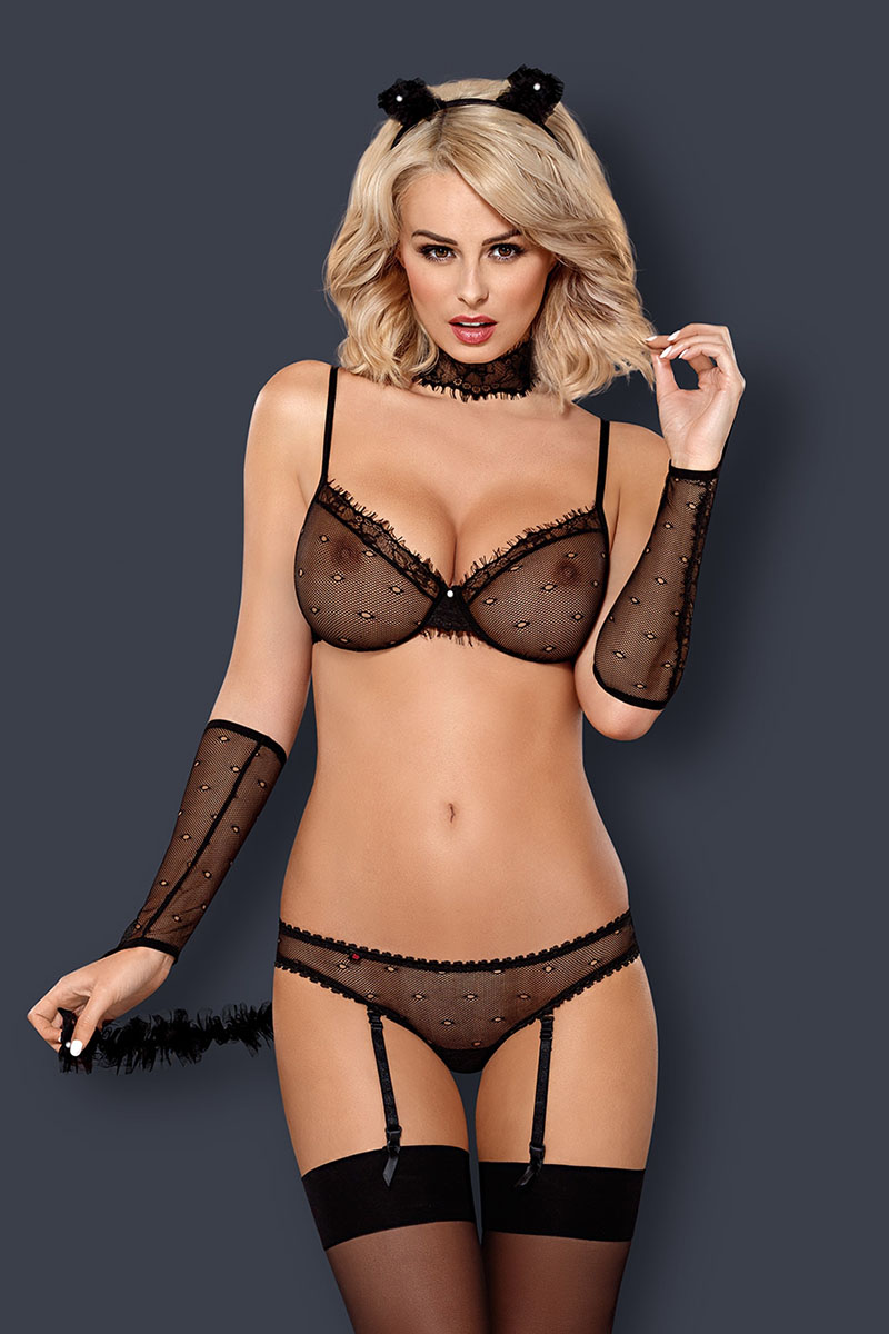 Costume sexy Kitty 836-CST