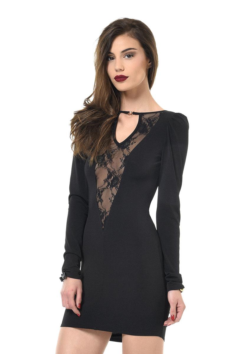Robe noire Massia