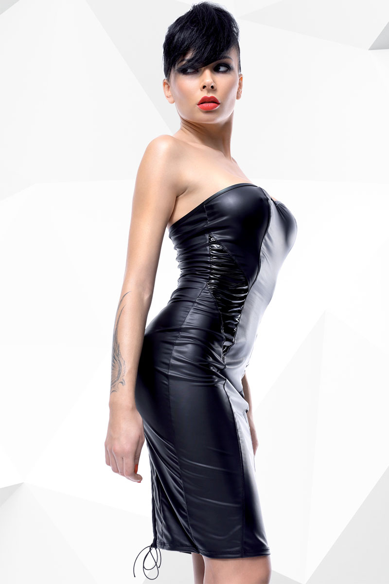 Robe vinyle Ellen