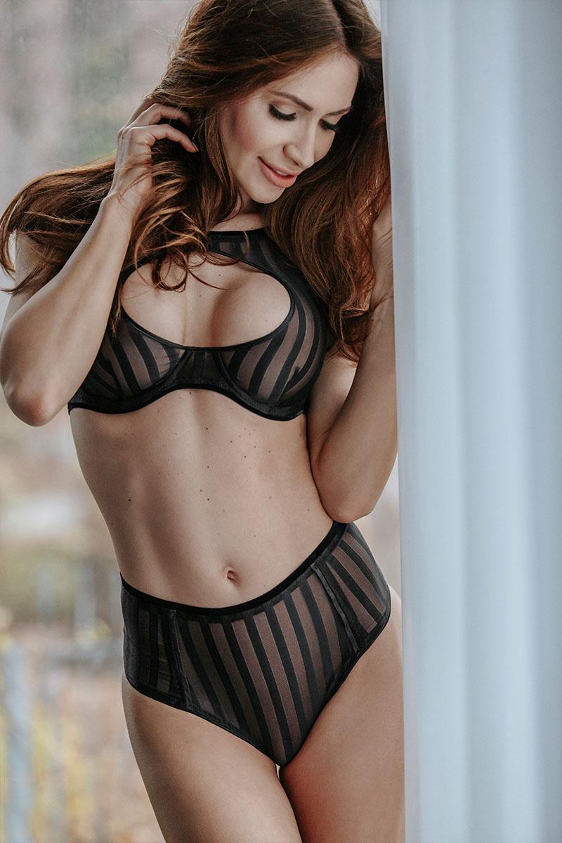 Culotte haute alcôve Noir