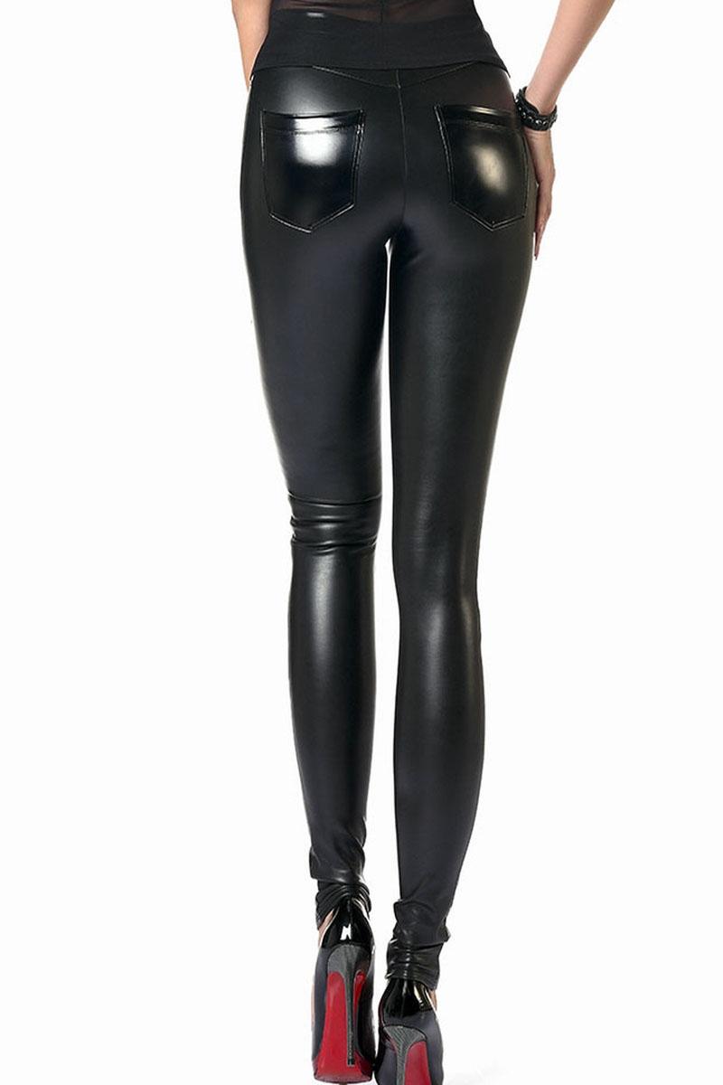 Legging faux cuir Dina