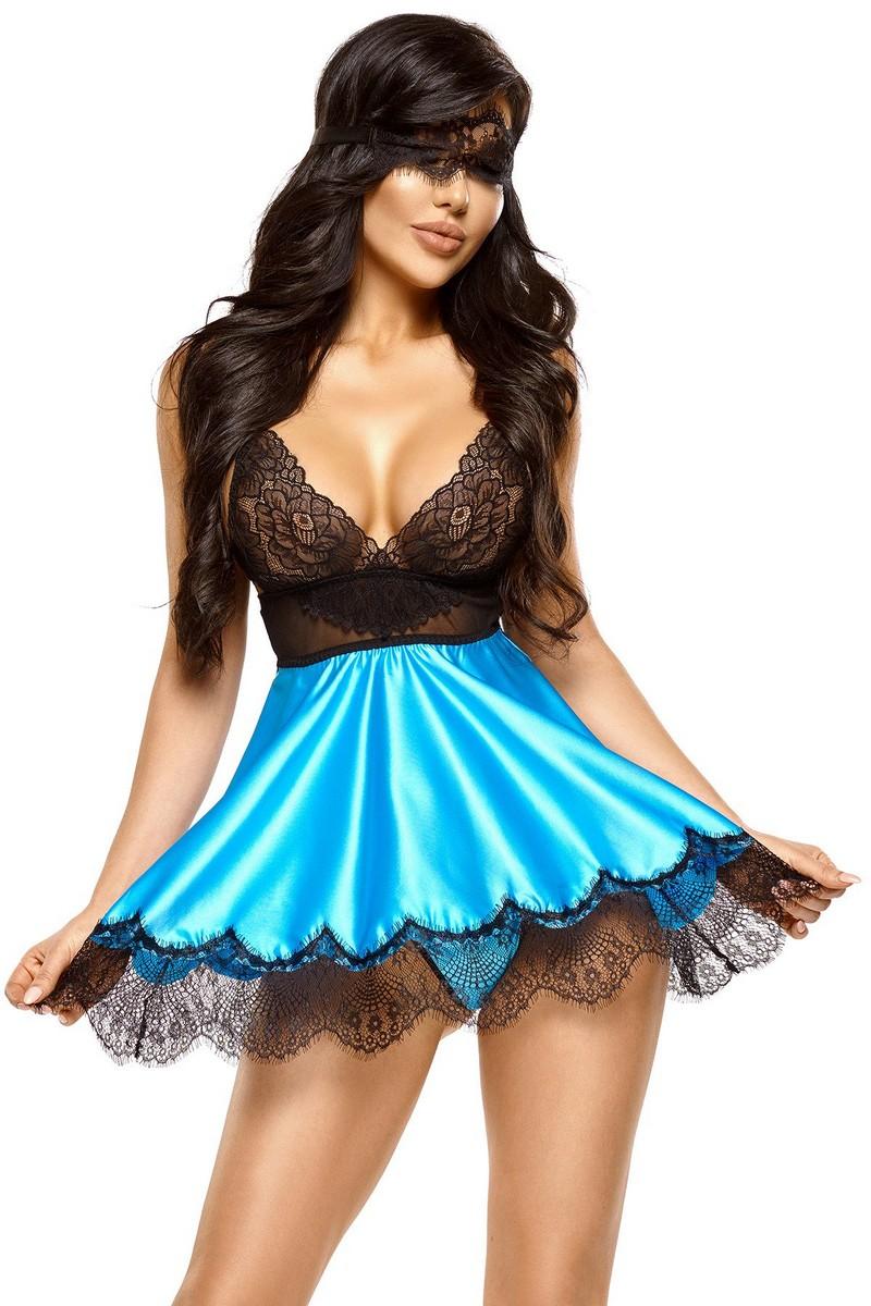 Babydoll Eve bleu