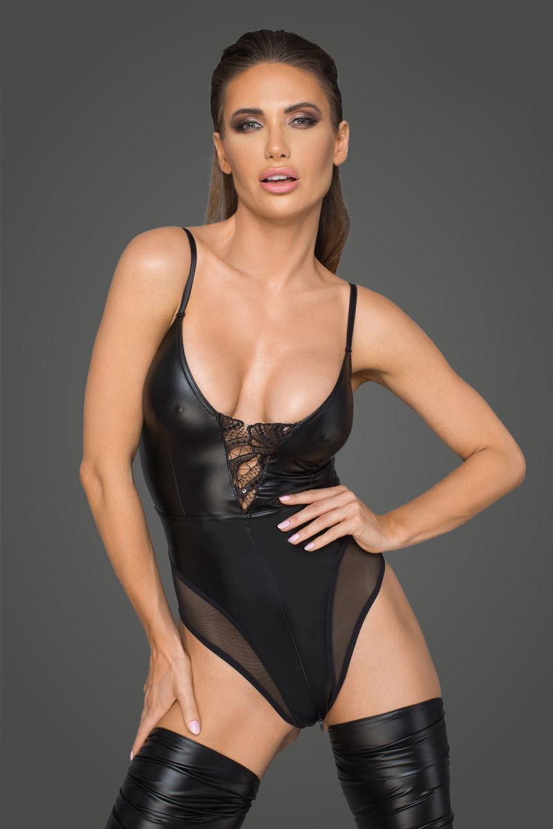 Body wetlook F206