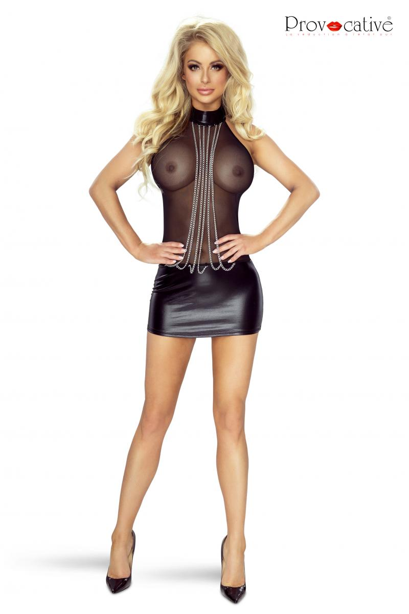 Robe wetlook PR6074