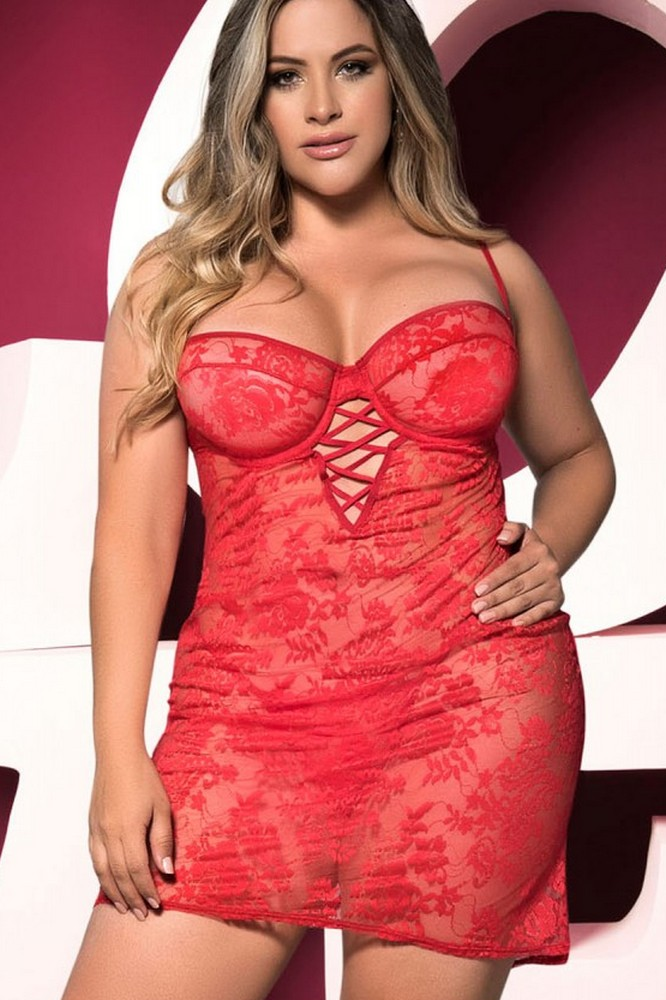 Nuisette rouge 7205