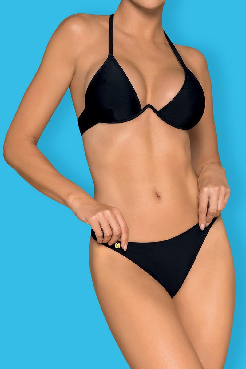 Bikini string Paralia noir