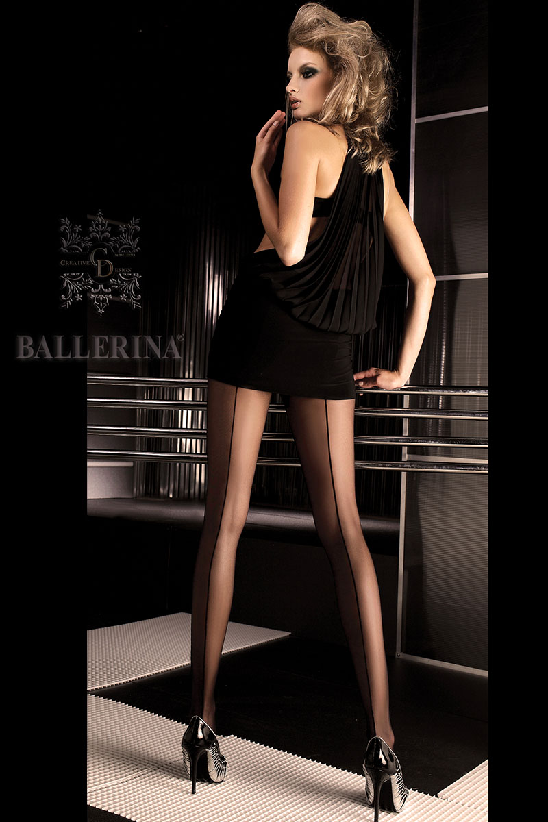 Collants noirs 050