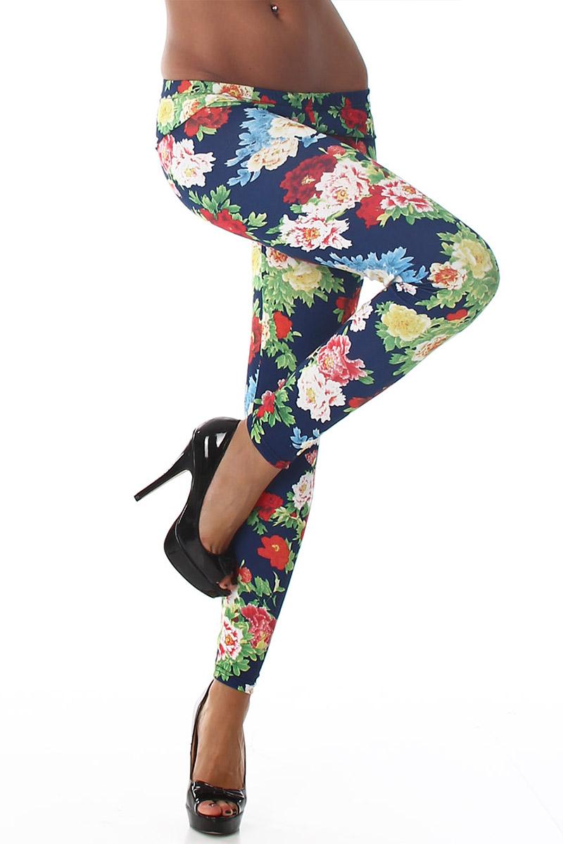 Legging fleurs #018