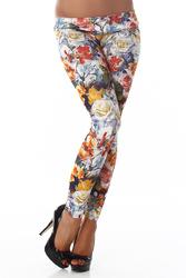 Legging fleurs #148