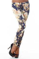 Legging fleur #152