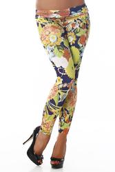 Legging fleurs #151