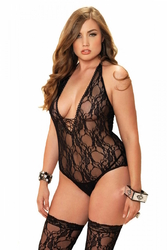 Body floral grande taille