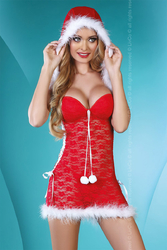 Nuisette Santa Lady
