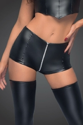 Culotte haute wetlook F164