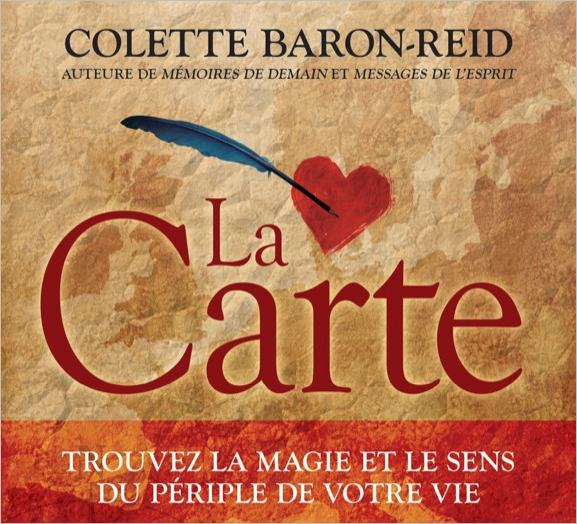 La Carte - Livre Audio - Colette Baron-Reid