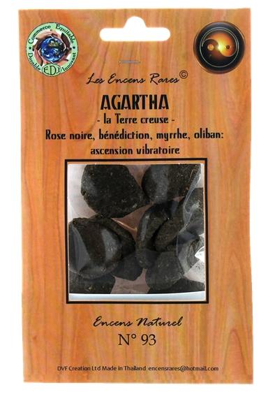 Agartha - La Terre Creuse - Ascension Vibratoire - 25 gr