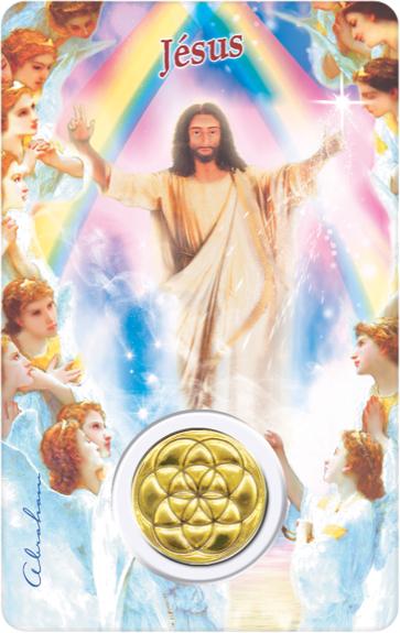 Carte Protection Jésus
