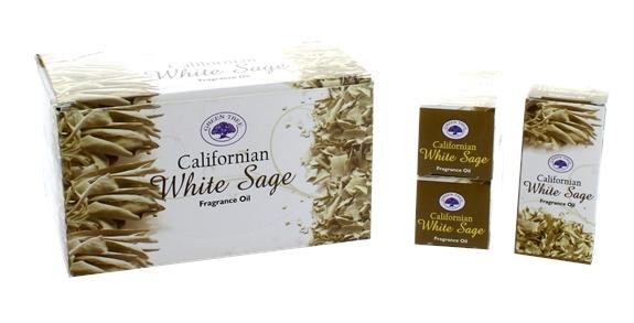Huile de Parfum Green Tree White Sage - Lot de 12