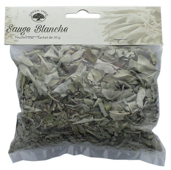Sauge Blanche Green Tree Feuilles Sachet de 50 g