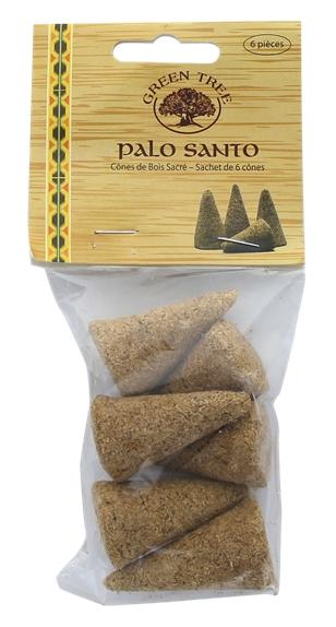 Palo Santo Green Tree Sachet de 6 cônes