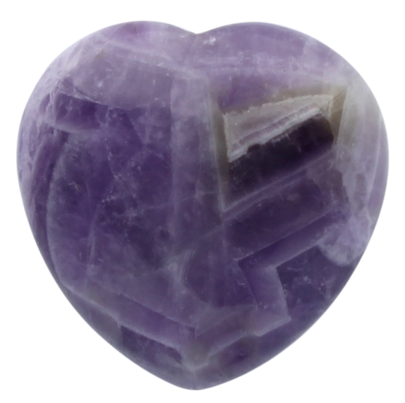 Coeur Améthyste - 4,5 cm