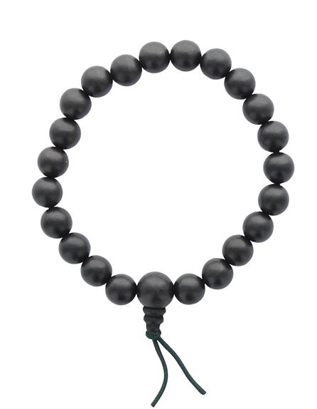 68972-Bracelet Mala en Bois d'Ebène