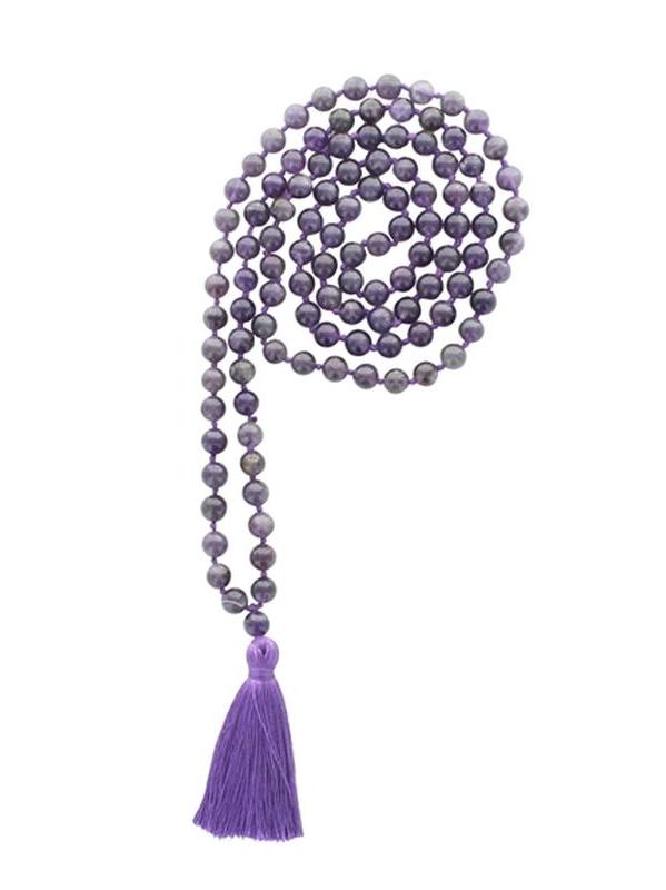 68976.2.Mala en Améthyste 108 perles
