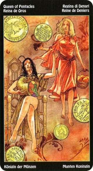 Tarot Des Eléments Cartomancie Secret Esoterique