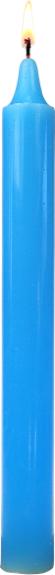 Bougie  Bleu Ciel