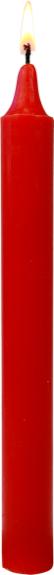 Bougies Rouge Vif