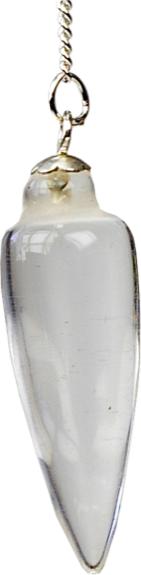 Pendule Toupie Cristal de Roche