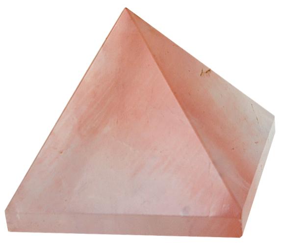 Pyramide Quartz Rose - 3 cm