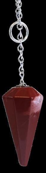 55718-pendule-a-facettes-jaspe-rouge