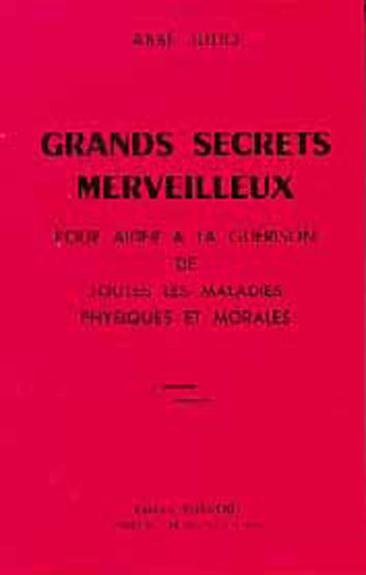 Grands Secrets Merveilleux - Abbé Julio