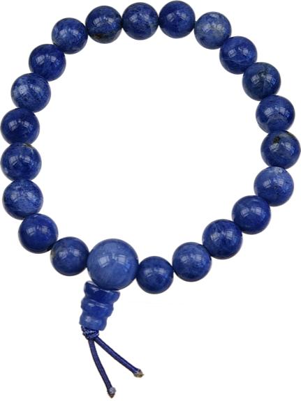 Bracelet Mala Tibétain Sodalite