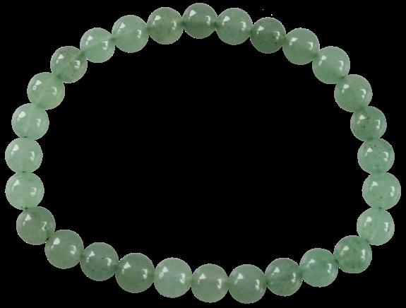 Bracelet Perles Rondes Aventurine 6 mm