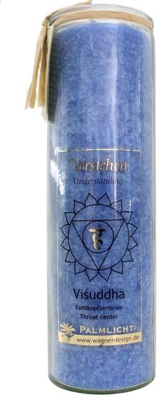 Bougie Chakra Bleu : Vishuddha