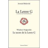 La Lettre G - Armand Bédarride