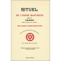 Rituel de l'Ordre Martiniste - Teder