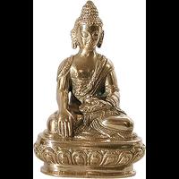 Statue Bouddha Doré - 9 cm
