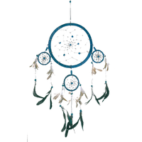 Dreamcatcher 4 Cercles - Bleu