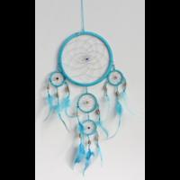 Dreamcatcher Moyen Modèle Turquoise - 17 cm