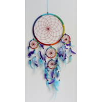 Dreamcatcher Grand Modèle Arc-en-Ciel - 26 cm