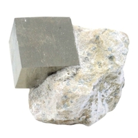 Cube Pyrite sur Gangue - MM