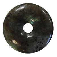 Pi Chinois Labradorite 3 cm - Lot de 2